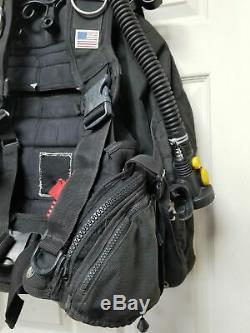 Zeagle Ranger BCD with Zeagle Alternate Air Source size M, Sold AS IS