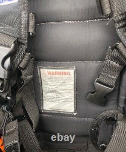 Zeagle Ranger Durable LTD Scuba Diving BC BCD with Rip Cord System SMALL All Black