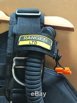 Zeagle Ranger LTD BCD XL Excellent condition with integrated alternate inflator