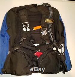 Zeagle Ranger Scuba Diving BCD with Ripcord Weight System size Small no reserve