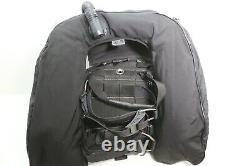 Zeagle Ranger Scuba Diving BC BCD with Rip Cord System Large L Black Used
