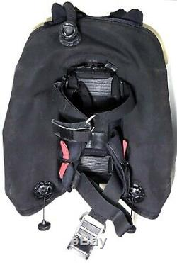 Zeagle Stiletto Scuba Diving BC Rugged Rear Inflation Weight Integrated BCD XL