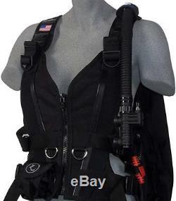 Zeagle Zena Ladies BCD M Black -Brand NEW