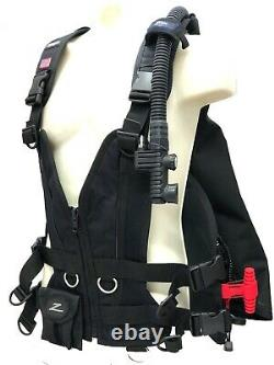 Zeagle Zena Womens BCD/BC with Rip Cord System Size MD Scuba Diving Equipment Gear