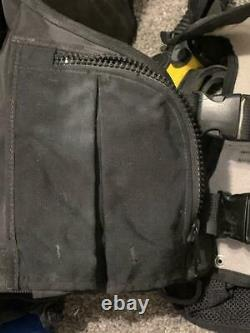 Zeagle Zena Womens BCD Buoyancy Compensator Device USA LG Scuba Black Octo+