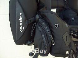 Zeagle ranger bcd large harness 44 lb lift bladder